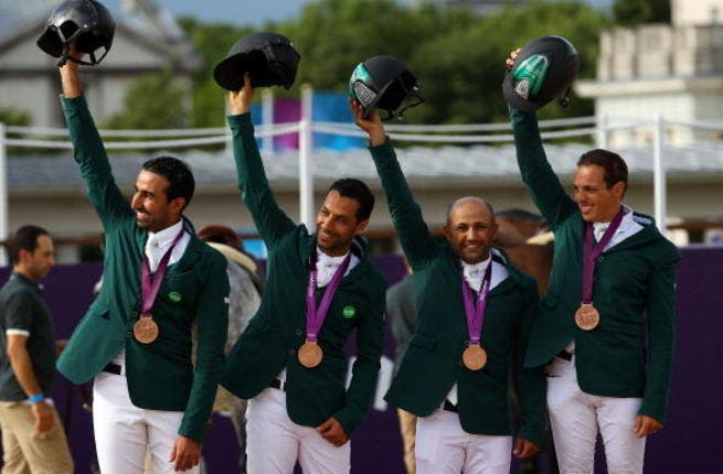 Saudi Arabia: More points for Arabian race horses! The equestrian team won bronze for the Kingdom but their victory was overshadowed by Sarah Attar. She was the first Saudi woman to compete and got a standing ovation despite coming last.