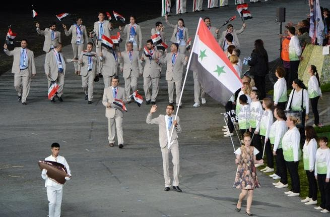 Syria cuts its losses: tries to score medals as it loses friends globally. With a history of 3 medals: 1 Gold, 1 Silver, 1 Bronze, 7 events give the beleagured nation a chance of success in bleak times. Athletes (submitted against the political odds) in the Opening Ceremony sported pro-Ba'athist regime regalia, against Olympic regulations.