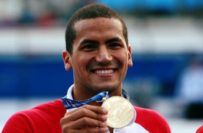 Tunisia's winning stroke: Our pioneer of Arab revolutions looks to crown its Jasmine victory with a Gold. They've done it before with this champion swimmer at Beijing in 2008: Oussama Mellouli took gold making him first African male to win an Olympic solo swimming event.  He's back in London for 3 events, the 400m, 1,500m and 10km open water.