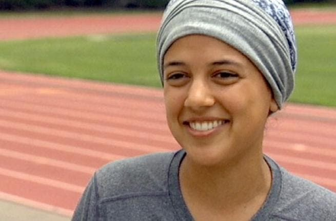 Saudi makes speedy strides on track for that Saudi Spring: Runner Sarah Attar at 19 is one of the first women entries for the Kingdom.  She is young and breaking records pre-race just for entering the competition as a Saudi. She's half Saudi -  but it's the right half to allow her to qualify and run the 800m for KSA.