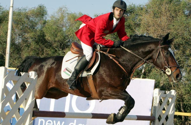 Ibrahim Bisharat, is Jordan's national horse jockey hope. He comes from a horsing family and is no stranger to Olympic competition, show-boating his equestrian talents in Athens 2004 and Beijing 2008. He'll be show-jumping with his lucky Arabian mare 'Farida'.