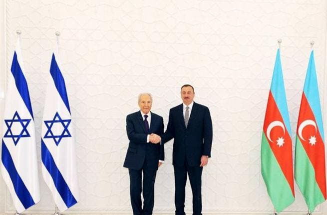 Azerbaijan cosies up to Israel