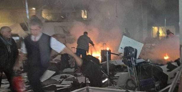 انفجارات واطلاق نار في مطار أتاتورك باسطنبول