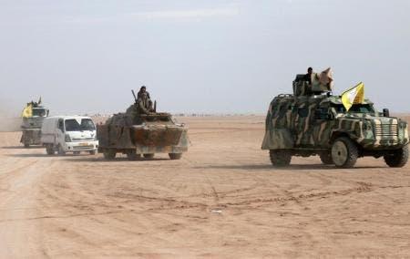 تنظيم داعش محاصر في جيب بشرق سوريا   البوابة