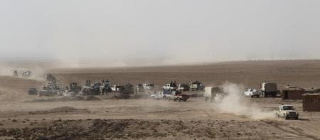 الحشد الشعبي يتقدم غربي الموصل