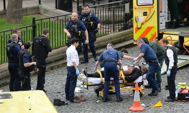 اربعة قتلى و20 مصابا في هجوم البرلمان البريطاني