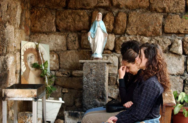 Lebanon: with egg hunts and thoughts of forming a government after Easter, it was business as usual at Easter in Byblos.