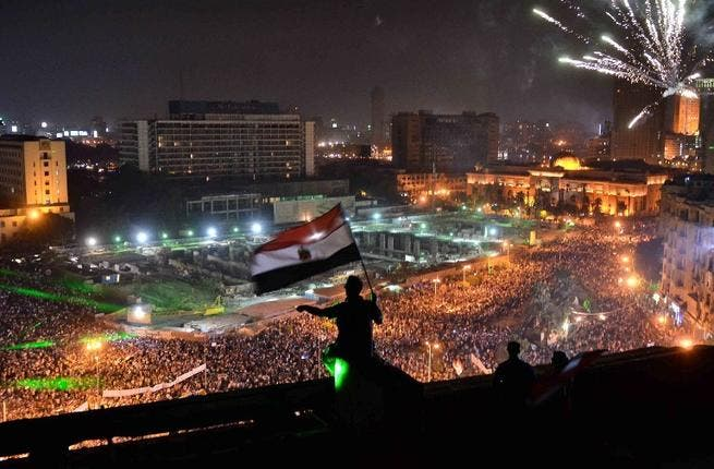 Thousands are expected to flood Egypt's streets on Saturday, in what may turn into a day of bloodshed and violence in the politically-torn country. (AFP/File)