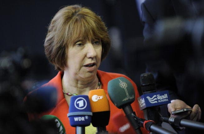 EU foreign policy chief Catherine Ashton(ARMEND NIMANI/AFP/Getty Images)