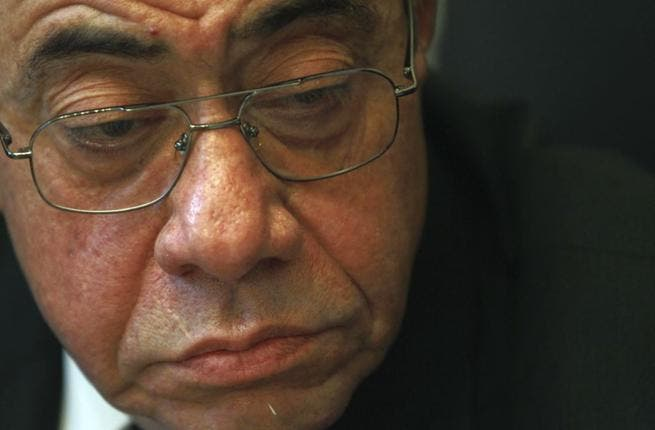 Abdel Maguid Mahmoud tenders his resignation (Image courtesy of Voanews)