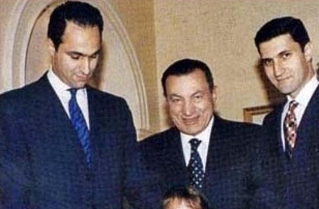 Mubarak and sons