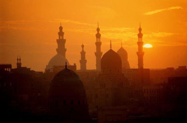 A view of the Cairo skyline. On Saturday, a major Al Qaeda linked bomb plot against a Western embassy was foiled. Getty images.
