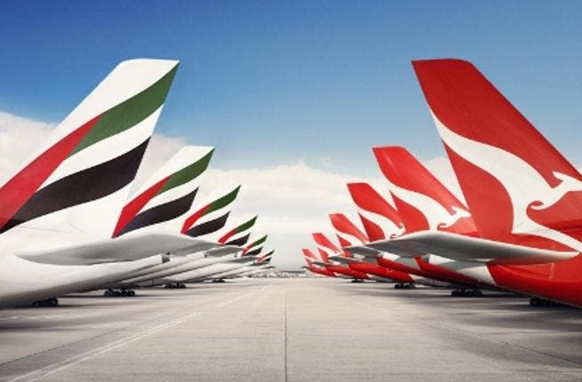 The Australia's pilots' union is furious that a woman who works for Qantas Airlines ground crew was able to sit on a flight from Sydney as well as the return to Dubai. (File photo Al Bawaba)