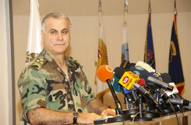 Lebanese Army Commander General Jean Kahwagi (Lebanese Army Website, HO)