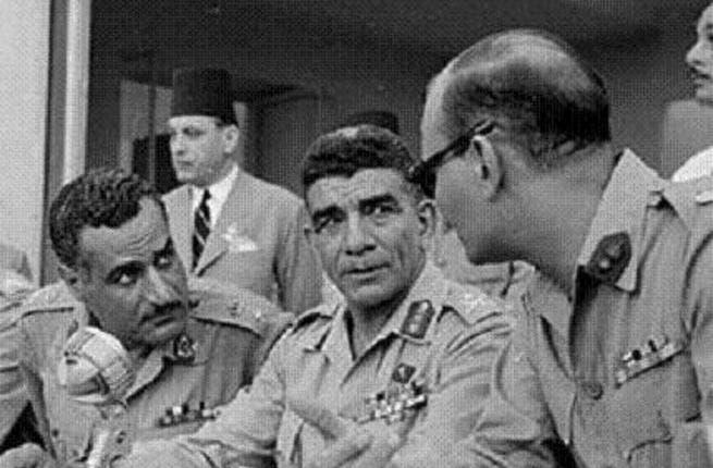 Muhammad Naguib and Nasser