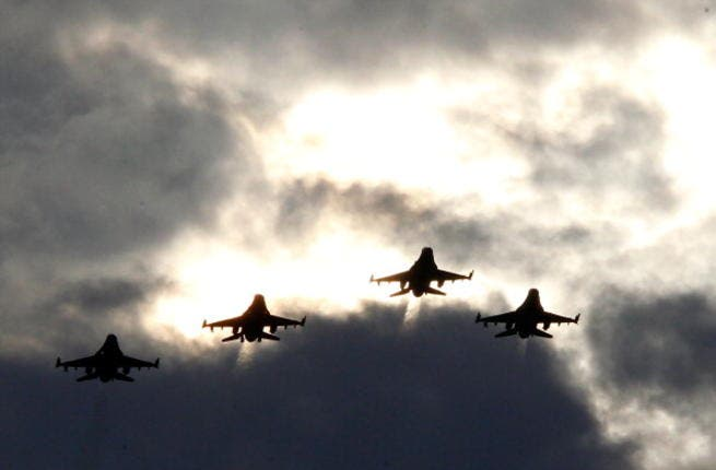 US fighter jets (Image used for illustrative purposes only: Geoff Burke/ Getty)