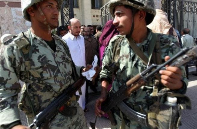 Egyptian soldiers (File photo used for illustrative purposes / AFP)