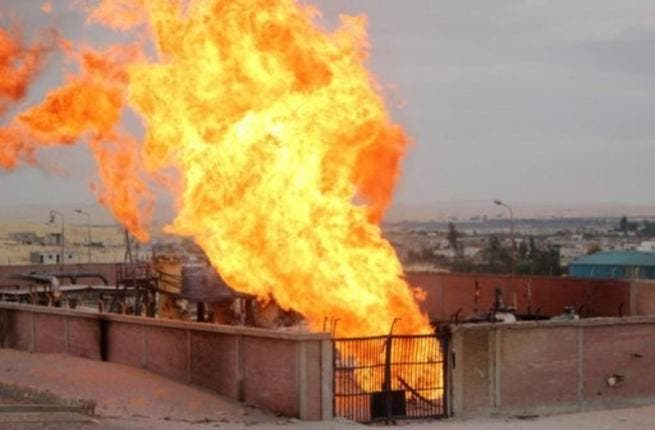 Gas blasts in Egypt