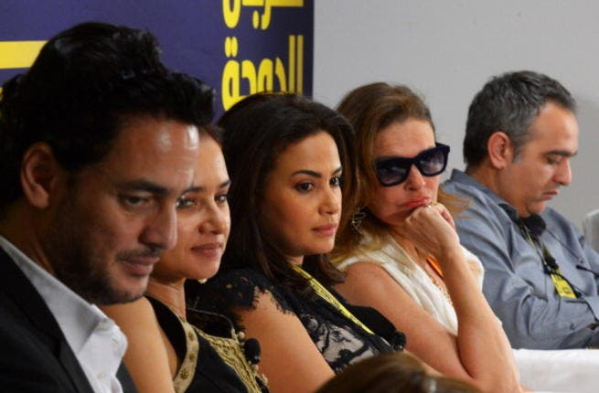 A host of Egyptian acting talent attend the 2012 Doha Tribeca Film Festival (Getty)
