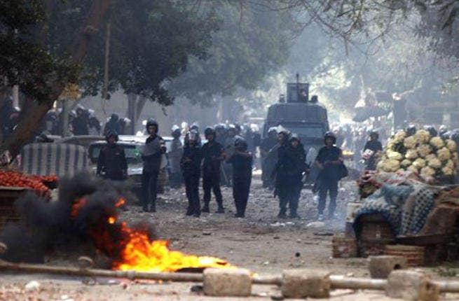 Riots escalate