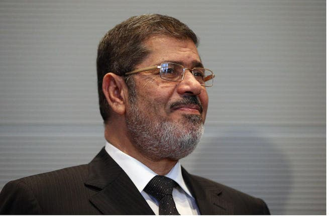 Egypt ex-President Mohammed Morsi pictured in Germany on Jan 30, 2013. (Image credit: Getty)