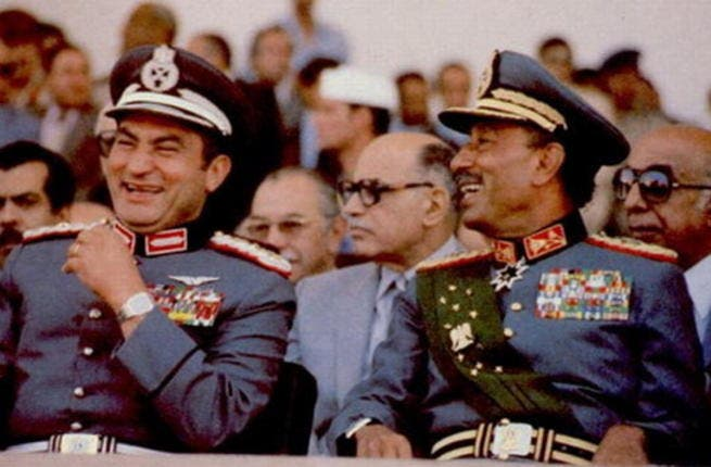Mubarak and Sadat