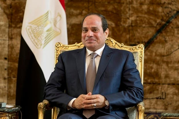 A campaign to push Sisi to stand for reelection in the anticipated 2018 presidential elections has taken off online (AFP)
