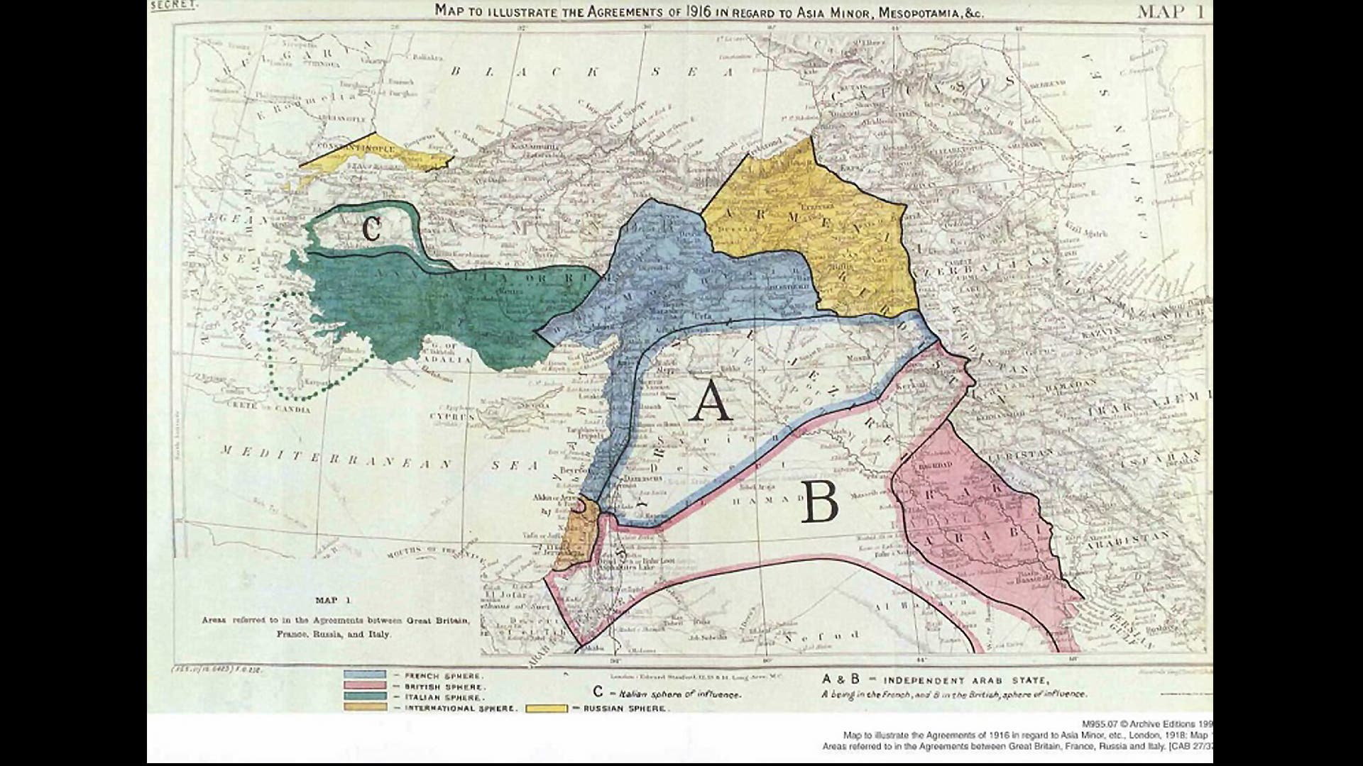 100 years on: Move over Sykes Picot, Middle East borders due ...
