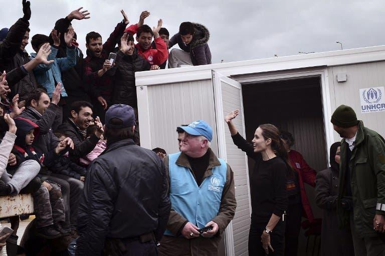 Angelina Jolie to address Syrian refugee crisis for BBC