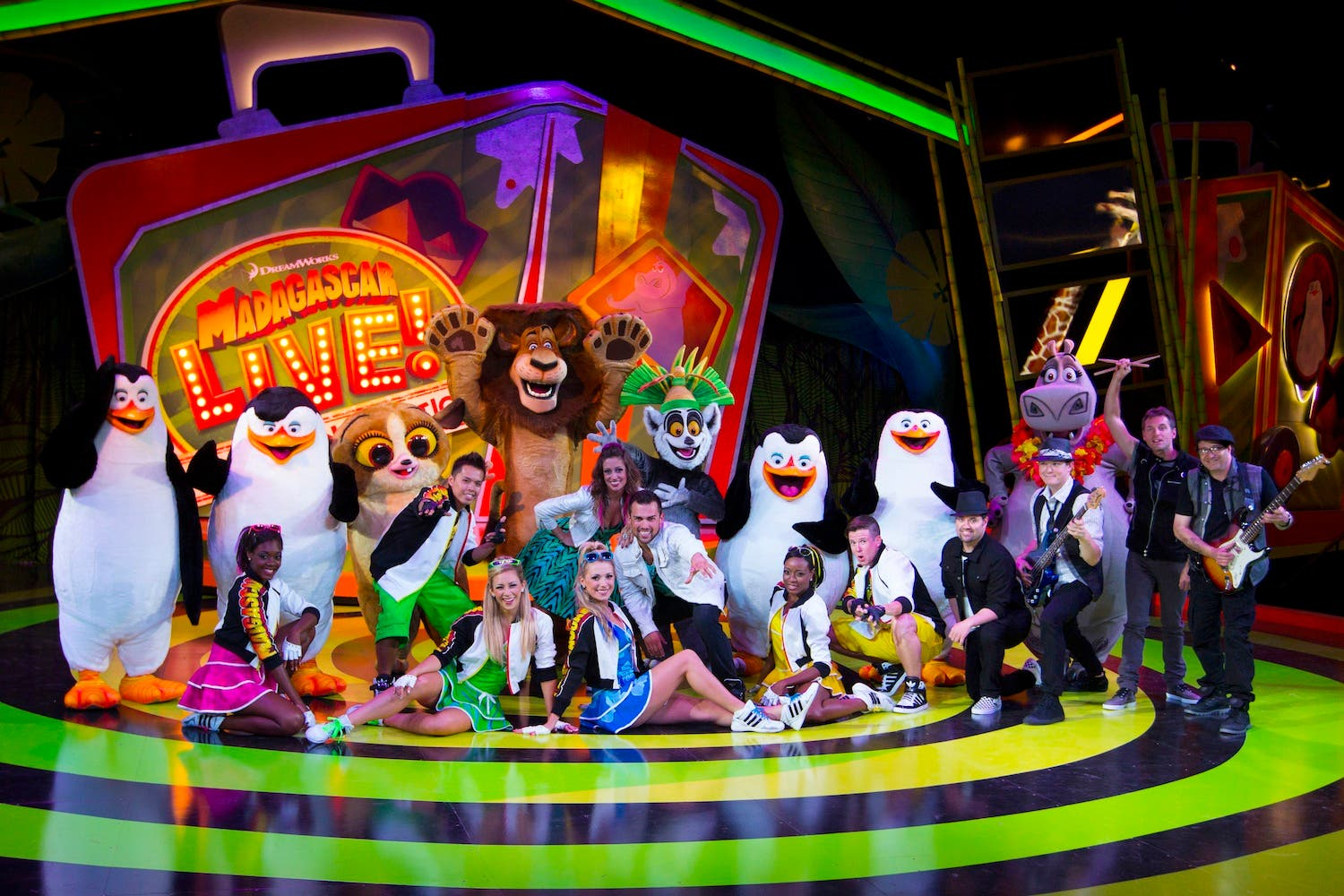 Kids Like To Move It Move It 39 Madagascar Live 39 Is