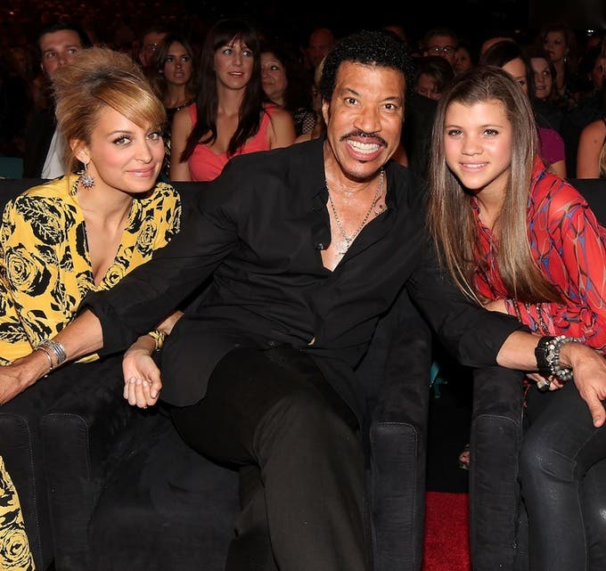Who is lionel richie dating 2012