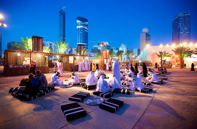 The UAE community and visitors will experience both the tangible and intangible heritage of the Emirate through a wide range of activities at the grounds of Qasr Al Hosn. (Image: Sevenmedia.ae)