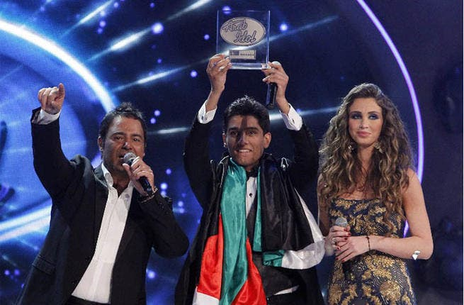 Mohammad Assaf from Palestine wins the title of Arab Idol!
