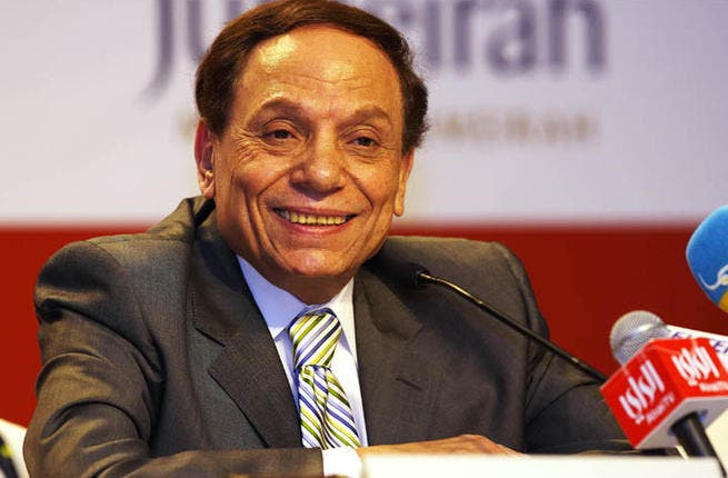 Adel Imam may smile, but he's not going to spill it on his new show