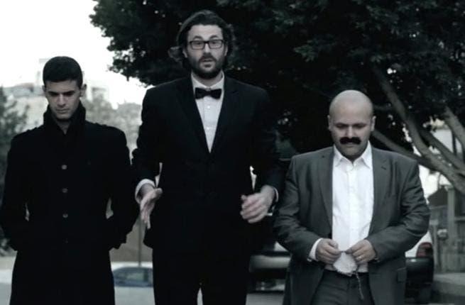 Brett Weer stars in 'My American Neighbor' alongside Natheer Khawaldeh and Fares Hadadeen (Image: Facebook)