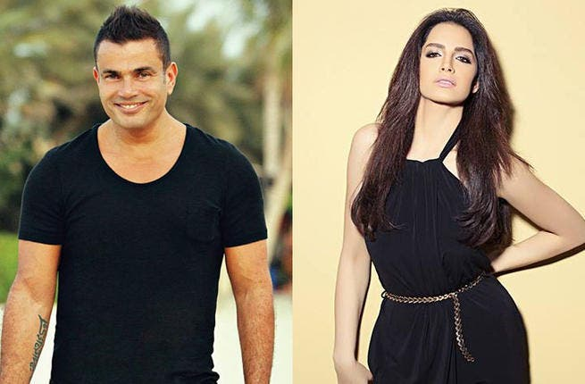 Amr Diab denied and replaced by Amal Maher for