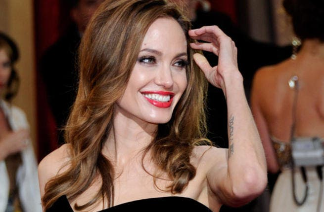 Angelina Jolie makes another daring move.