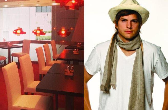 Ashton Kutcher soon to open the door for all your Ketchup needs, Dubai.