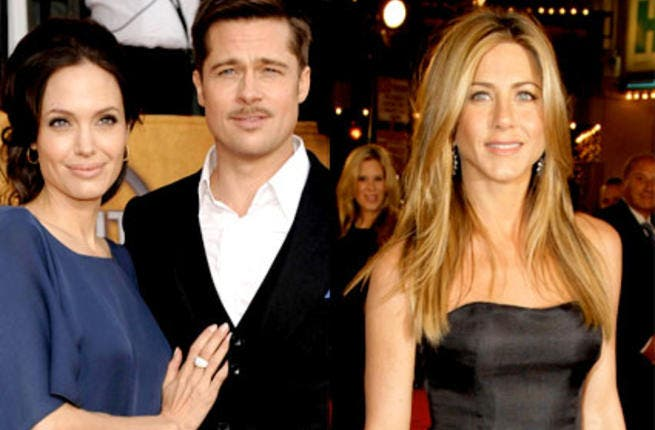 Jennifer Aniston has moved on from Brad and is touched by Angelina's bravery