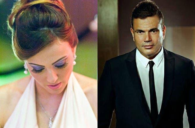 Bushra cannot believe her luck, as she will be starring alongside Amr Diab in