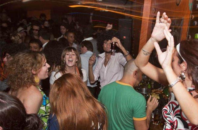 Peeps partyin' in Cairo!