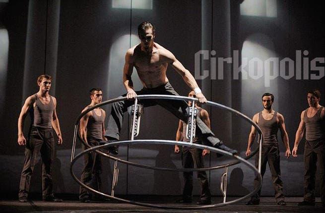 Cirque Eloize is in Dubai right now!
