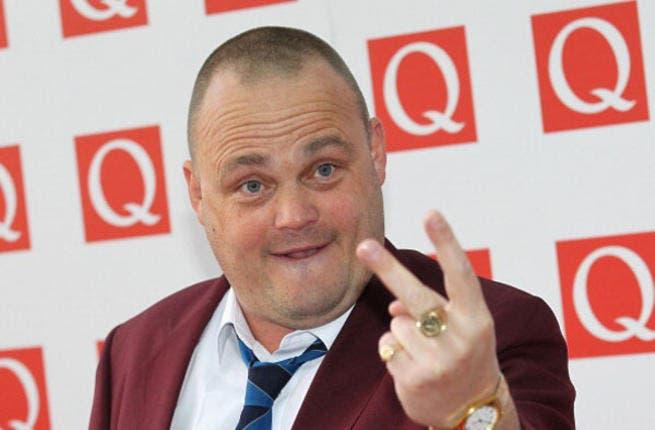British comedian Al Murray throws up the deuces to Dubai.