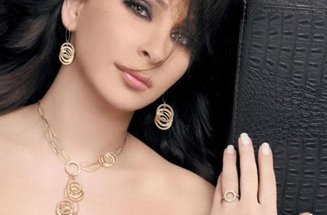 Elissa flashes her jewels. Image used for illustrative purposes only