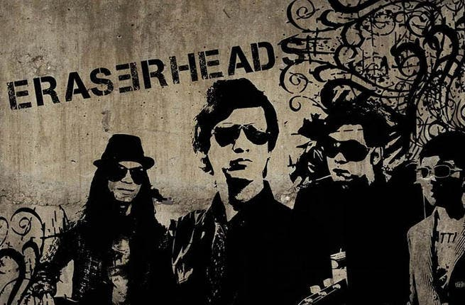 Eraserheads will wipe out all traces of other music acts when they hit the Dubai arena