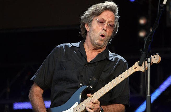We sure hope Eric Clapton will perform