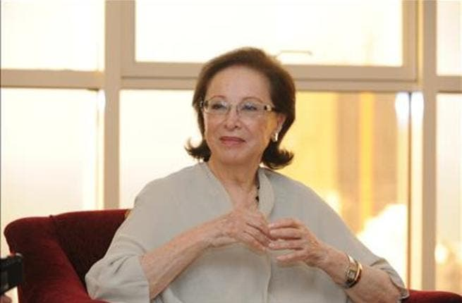 Faten Hamama, who is now open about her stance on politics.