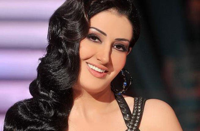 Ghada Abdel Razek is all smiles that she snagged the leading lady role. (image: Facebook)