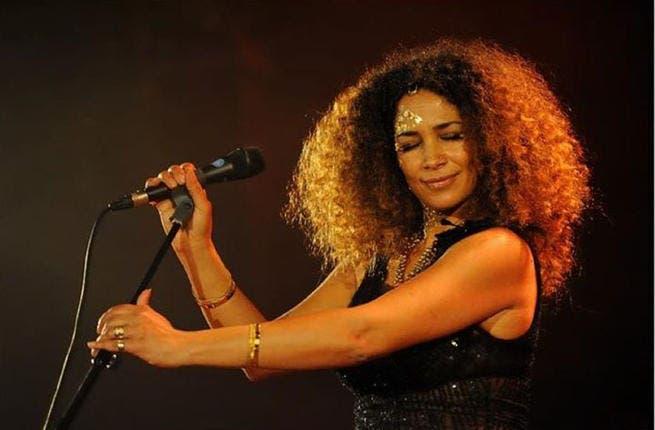 Ghalia Ben Ali performing at Hayy Festival. (Image: Facebook)