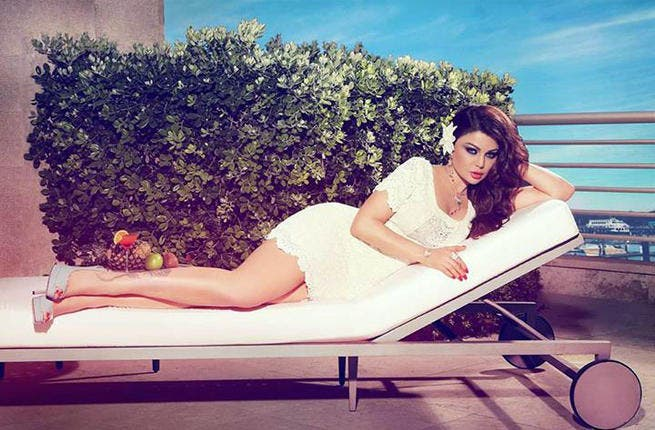 Drama queen, but not a drama star. Haifa Wehbe's too high maintenance for new TV show. (image: Facebook)